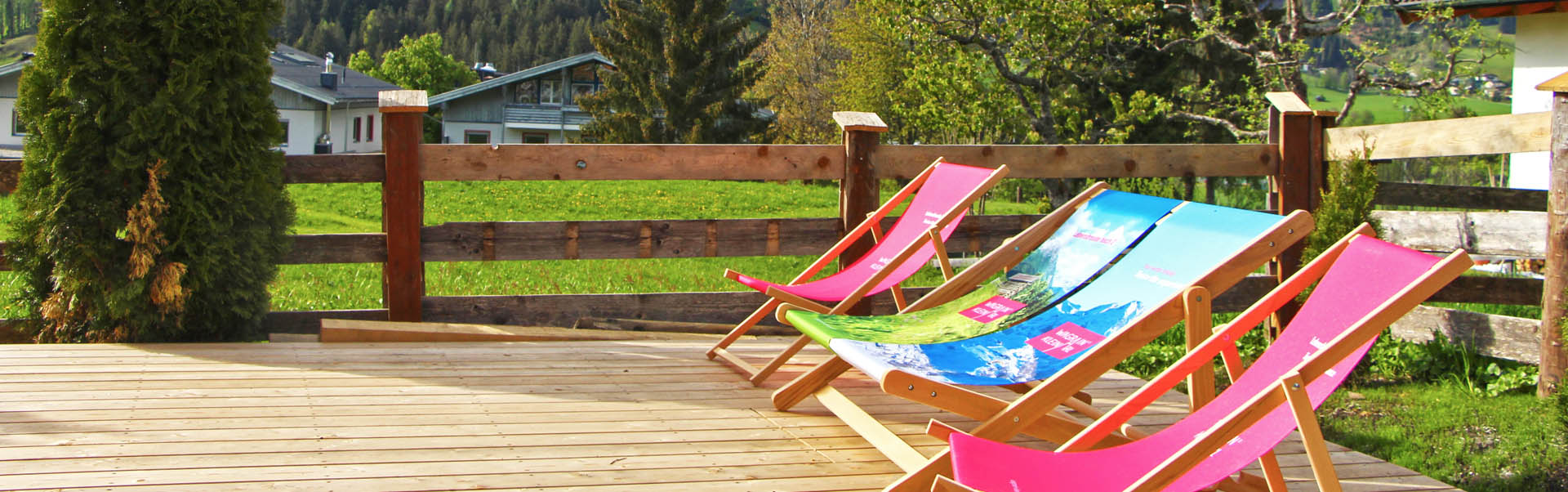 Sun terrace | AmadeLodge